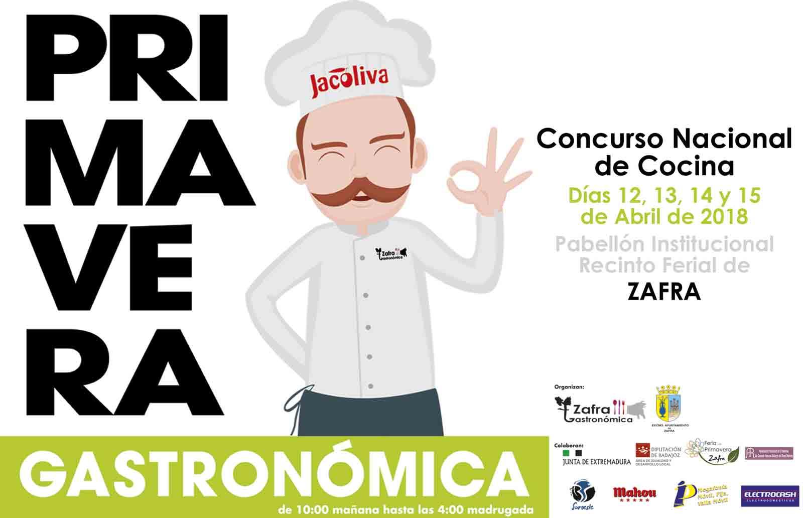 PRIMAVERA GASTRONÓMICA. Concurso Nacional de Cocina, Concurso de Contelería, Exposiciones, Degustaciones...