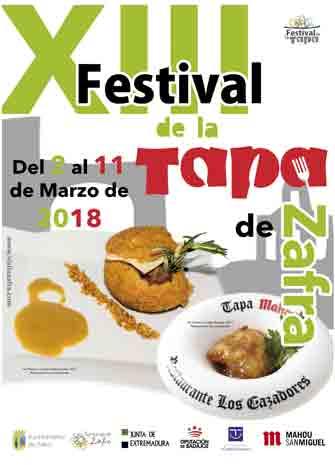 XIII FESTIVAL DE LA TAPA. Degustaciones, concursos, sorteos, premios...